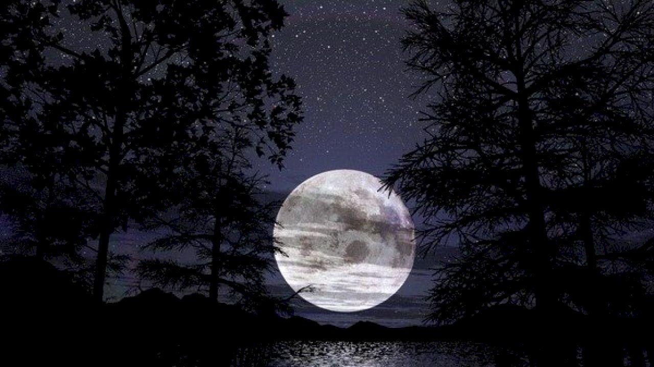 ما هو الثلث الأخير من الليل Nature Photography Moon Over Water Water Pictures