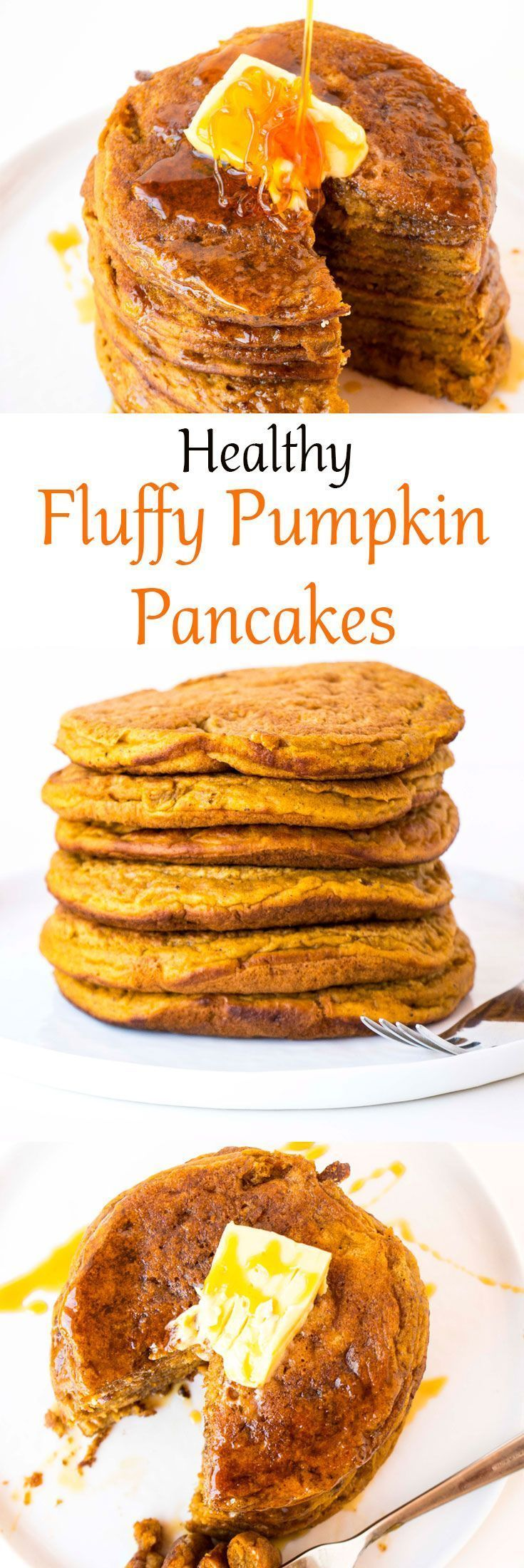 Fluffy Pumpkin Pancakes - Baking-Ginger