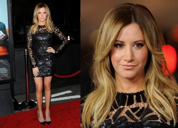 Ashley Tisdale In Sky Fayina - 'That Awkward Moment' LA Premiere. https://twitter.com/MyFashBlog/status/428325929530568704/photo/1