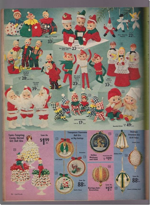 1960s Lee Wards Christmas catalog | Christmas Vintage | Christmas ad