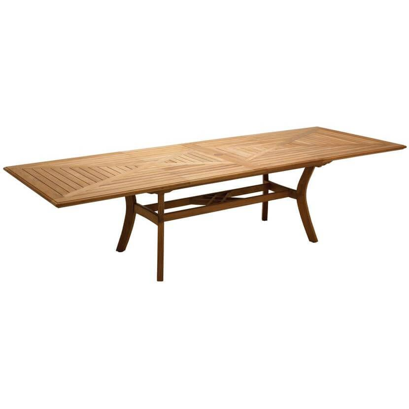 Teak Outdoor Dining Table Extendable