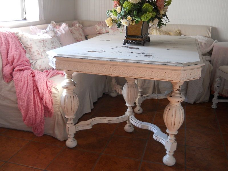 1940's shabby chic table