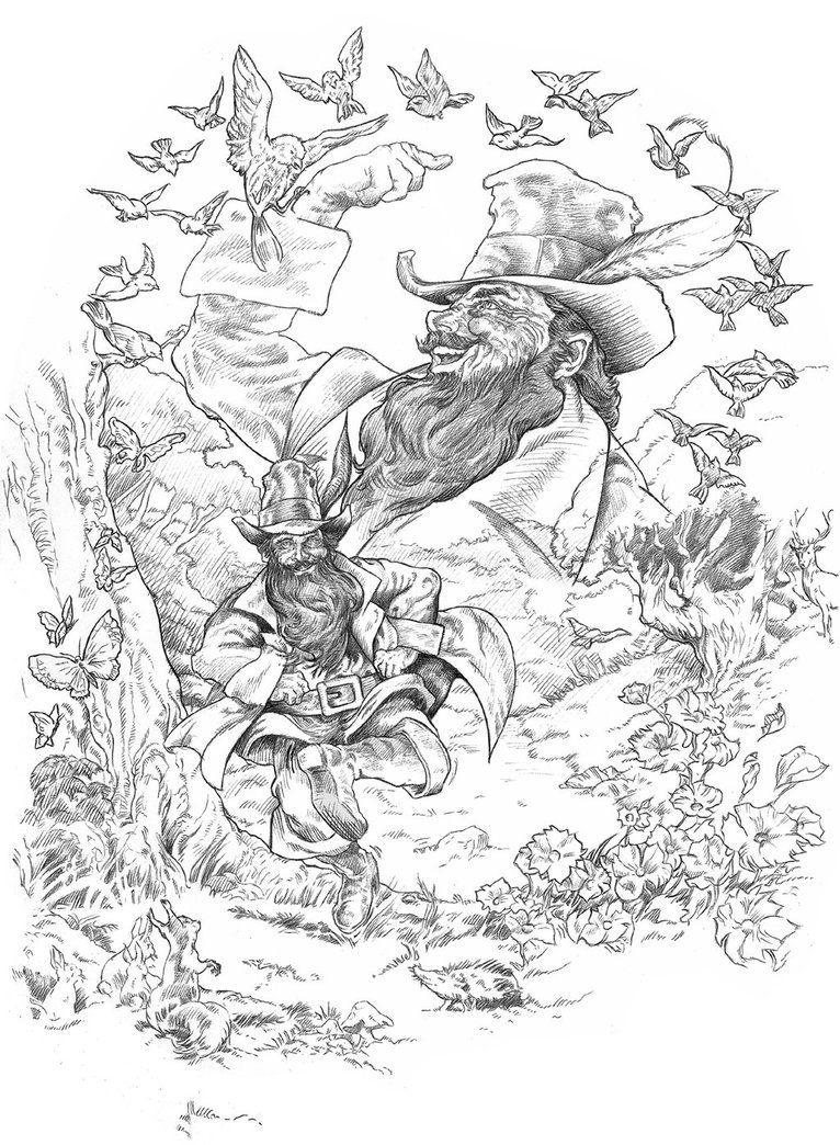 Tom Bombadil by NachoCastro on deviantART   Tolkien\'s Universe ...