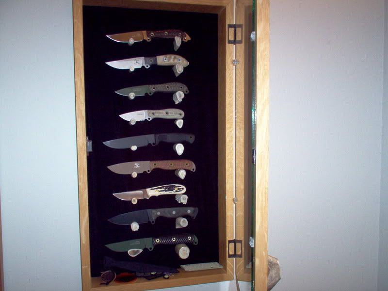 Wall Mounted Knife Display Case Things To Try