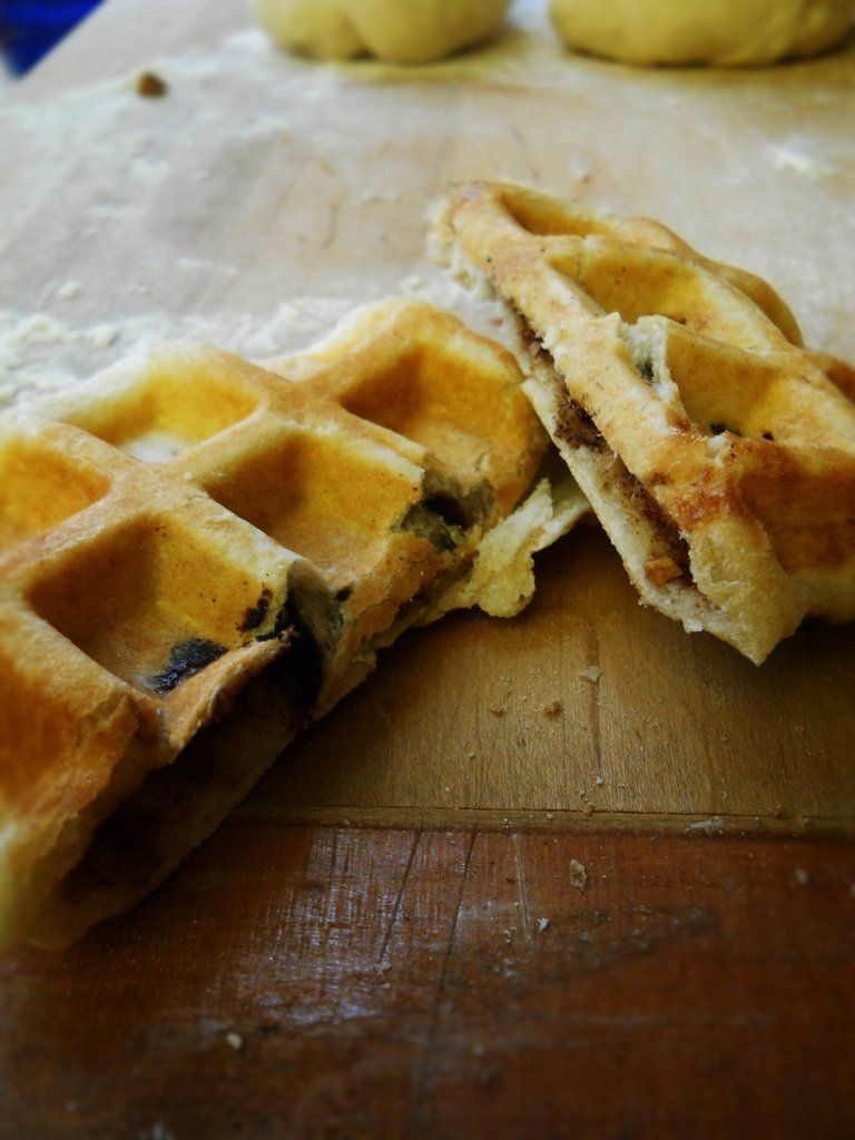 OMG Hoddeok Waffles! Hoddeok–Korean Sugar Pancakes…with a ... Hoddeok Korean Sugar Pancakes