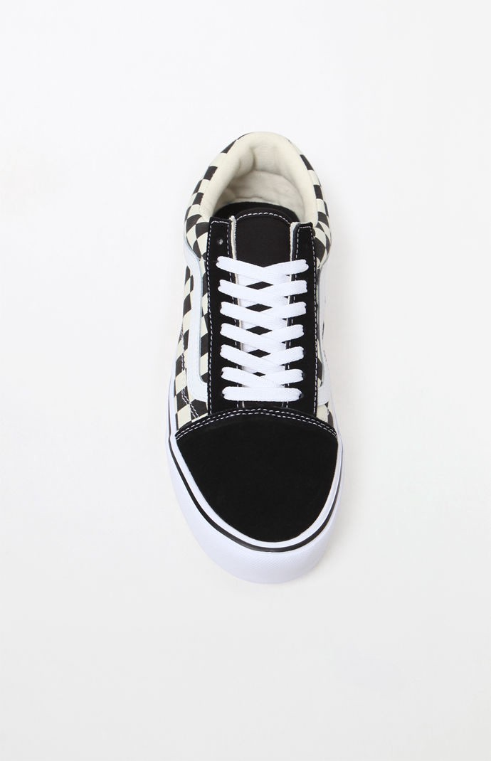 e2ccf6cd82240a Vans Checkerboard Old Skool Lite Black   White Shoes - 10.5 ...