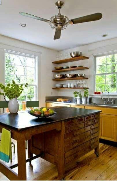 Unique Kitchen Island Repurposed Kitchen Diy Kitchen Renovation Kitchen Island Alternatives