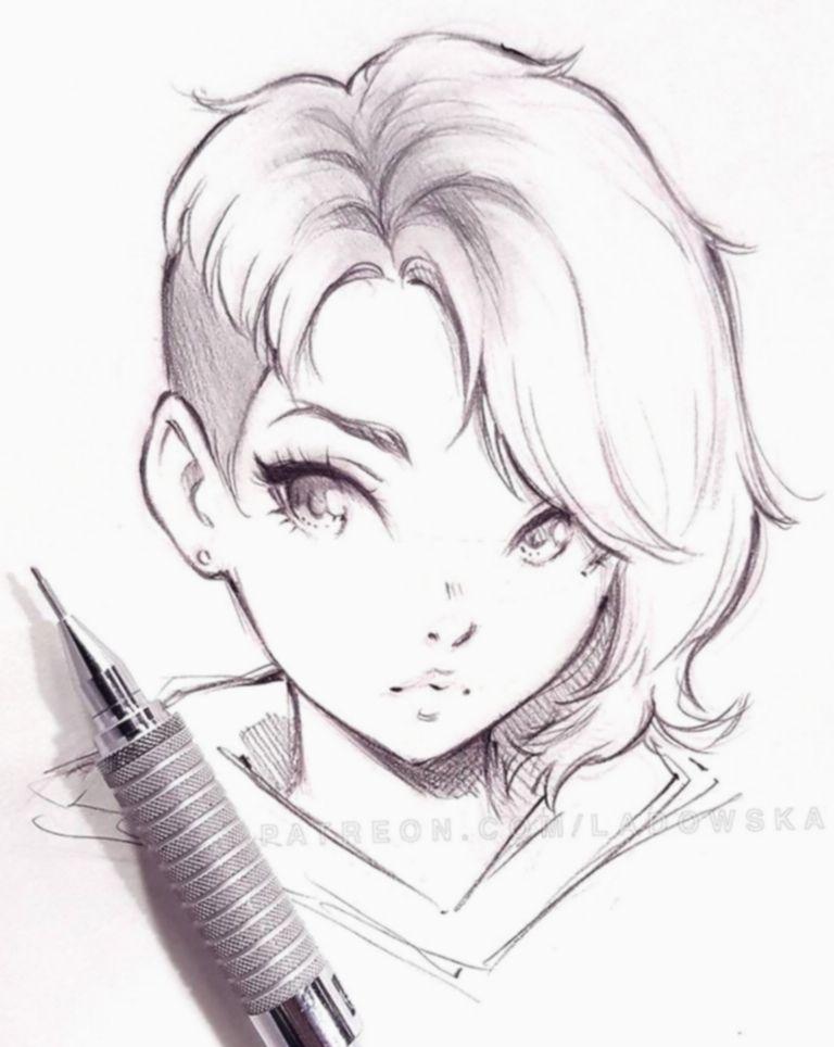 Pin On Anime Sketch