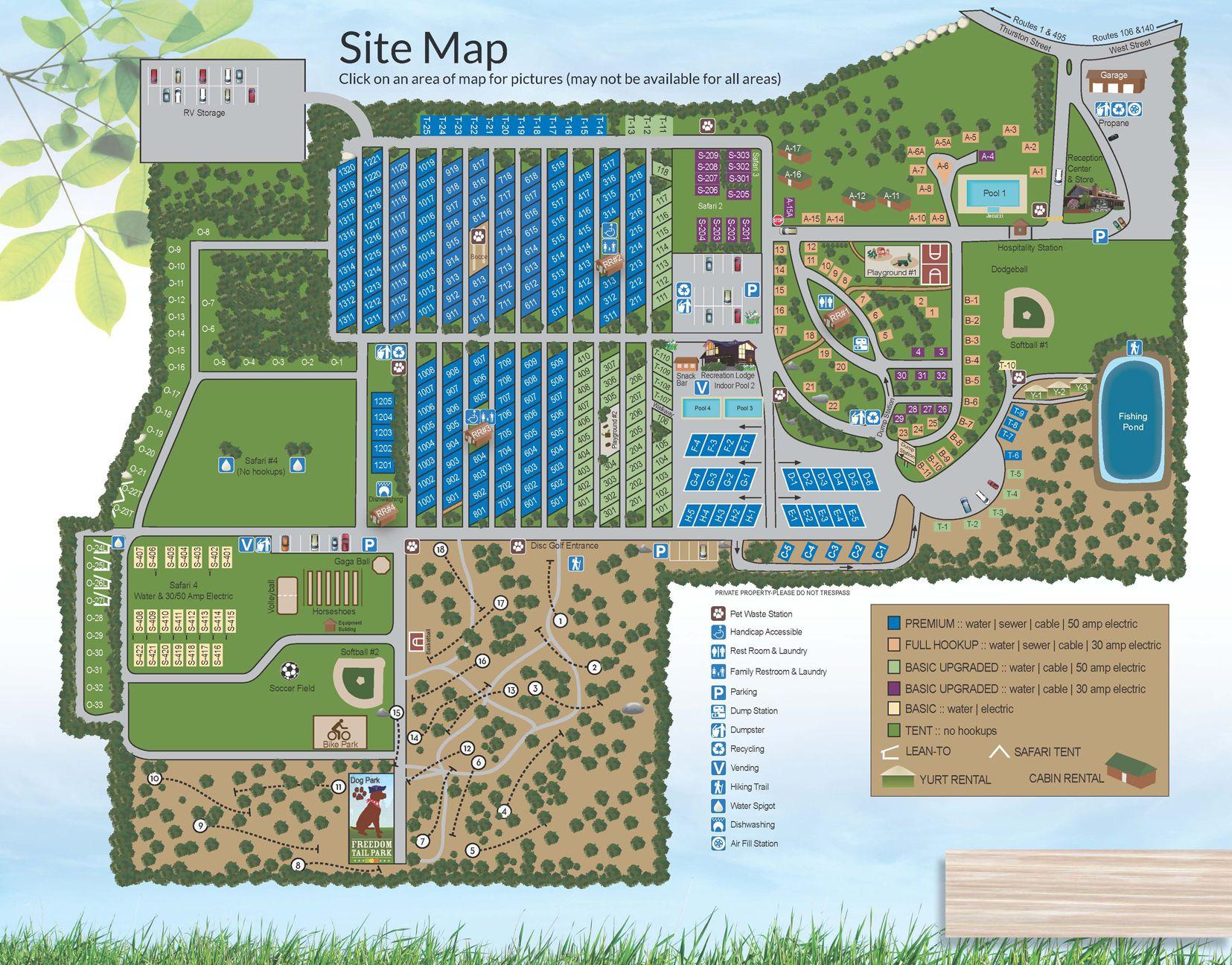Normandy Farms In Foxboro Ma Campgrounds Campsite