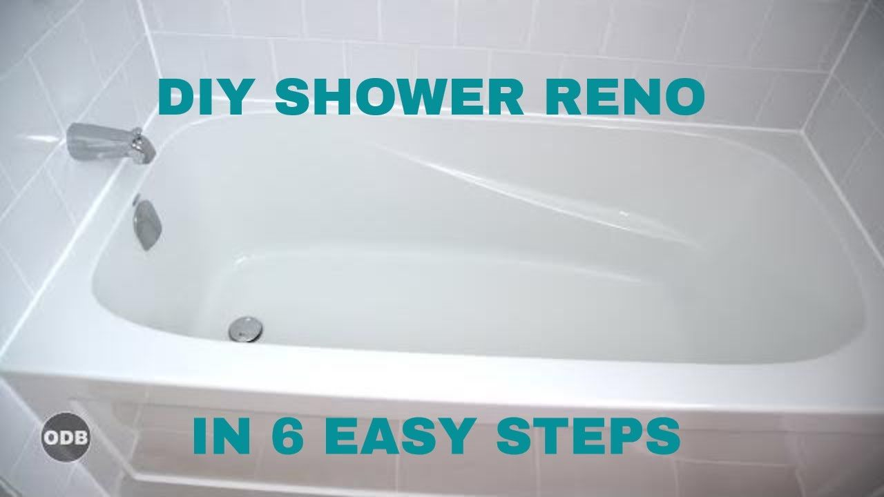 Diy How To Renovate The Tub Shower From A To Z Youtube Are You A Homeowner Looking To Renovate Shower Tub Bathroom Renovation Shower Shower Renovation