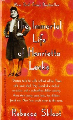 The Immortal Life Of Henrietta Lacks Quotes 9781400052189 The Immortal Life Of Henrietta Lacks  Abebooks .