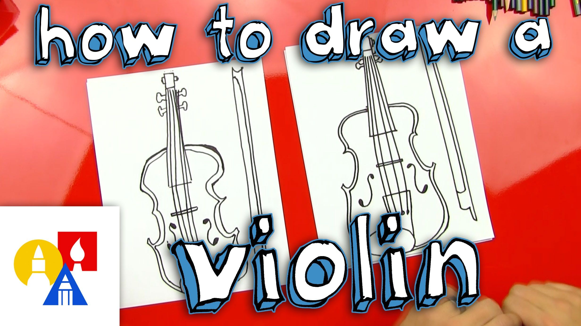 How To Draw A Violin | Violin, Art for kids hub, Violin art