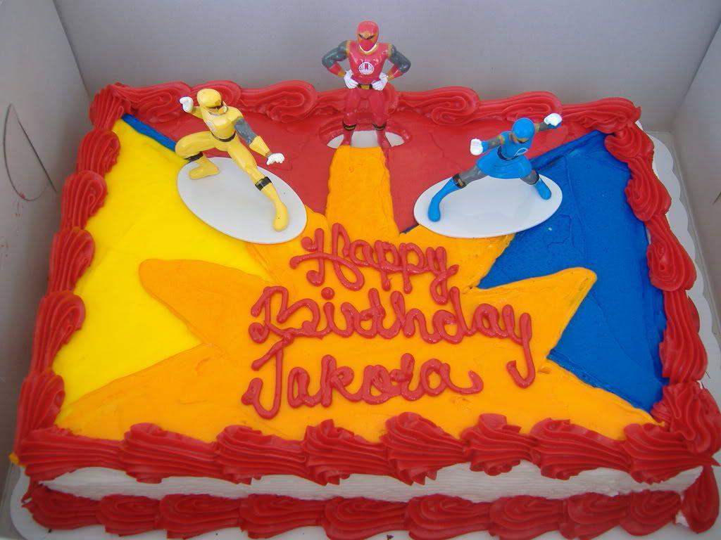 Orange Power Ranger Cake Photo This Photo Was Uploaded By Kimkreis