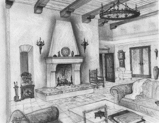 spanish revival fireplace design specialist jeff doubet fireplace pinterest. Black Bedroom Furniture Sets. Home Design Ideas