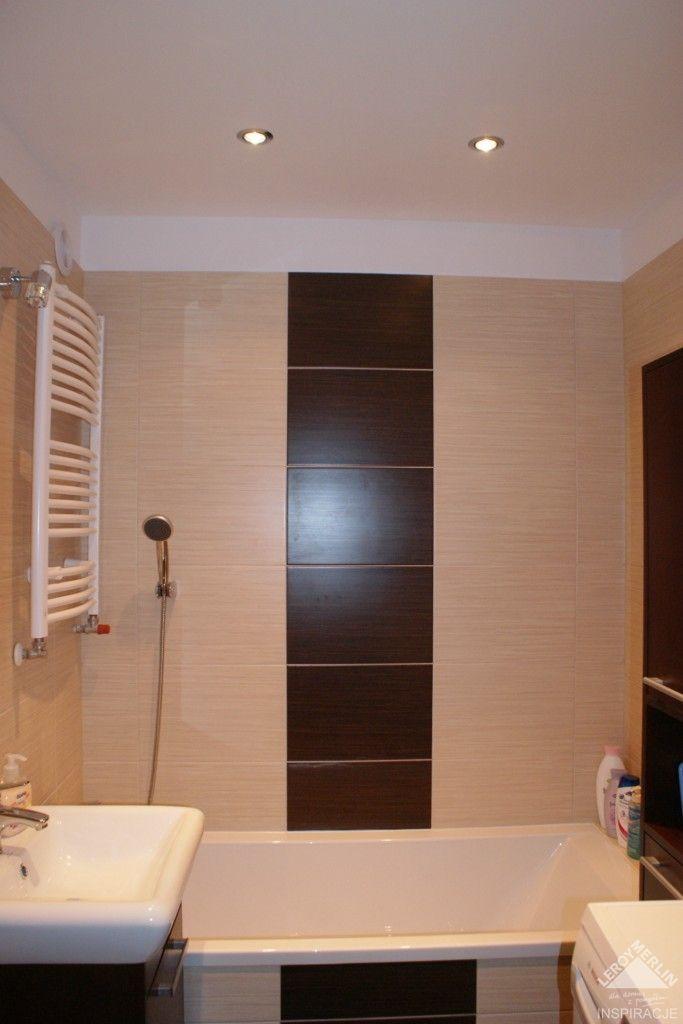 Mala Lazienka W Bloku Lazienka Wasze Wnetrza Leroy Merlin Bathroom Bathtub