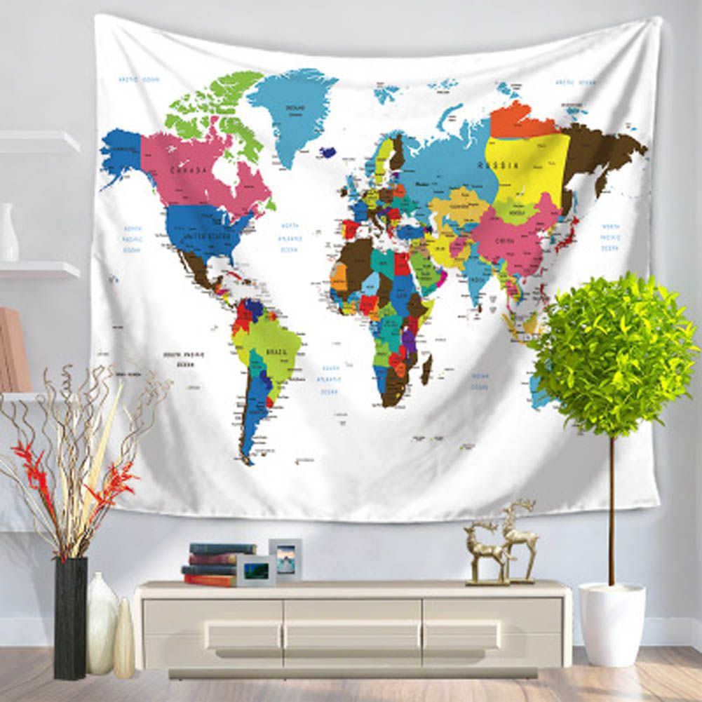 2017 world map geography wall hanging hippie mandala tapestry beach 2017 world map geography wall hanging hippie mandala tapestry beach carpet yoga mat picnic blanket boho gumiabroncs Images