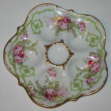 Antique Limoges Elite 5 Well Oyster Plate & Antique Limoges Elite 5 Well Oyster Plate | china- oyster plates ...
