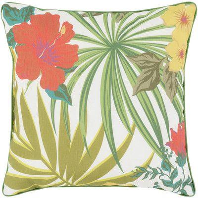 "Bay Isle Home Balamos Indoor/Outdoor Throw Pillow Size: 20"" H x 20"" W x 5"" D"