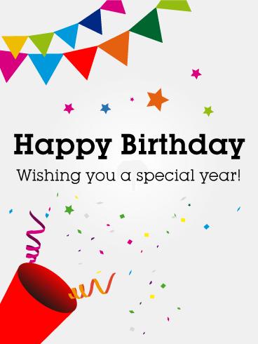 Newly Added Birthday Cards Birthday Greeting Cards By Davia Free Ecards Birthday Flags Free Birthday Card Birthday Ecards