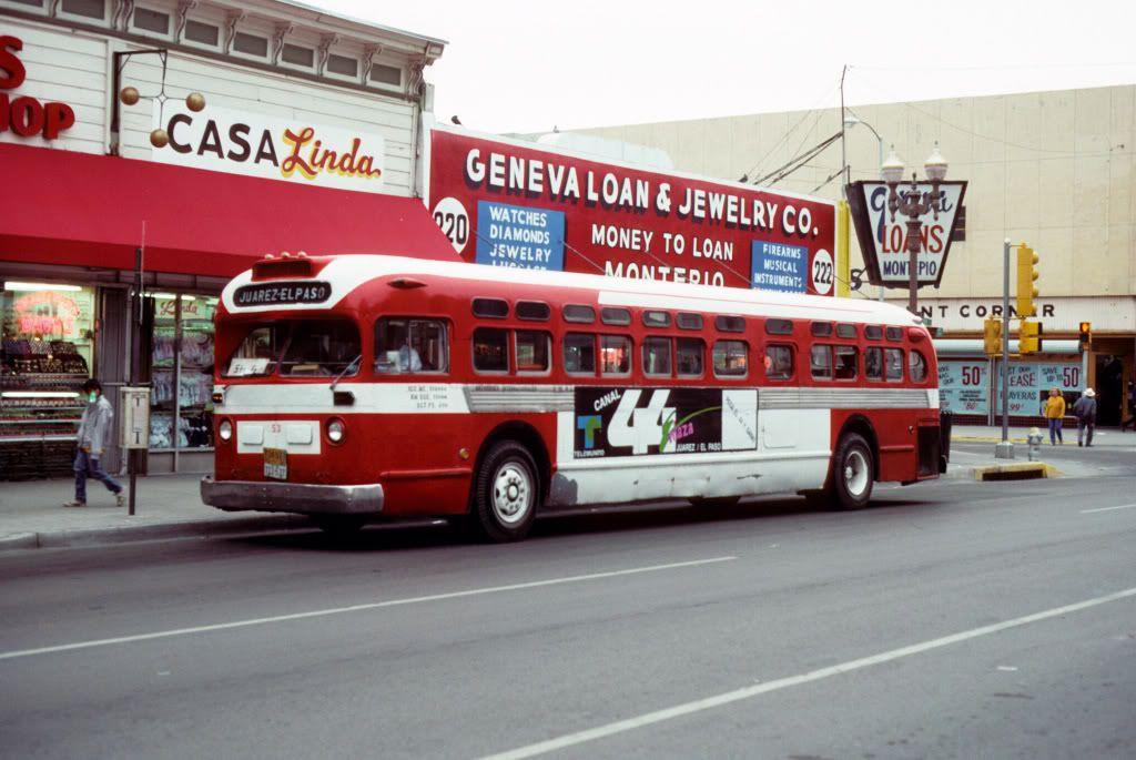 Autobus International Old Look Gmc In El Paso Tx El Paso County El Paso Juarez