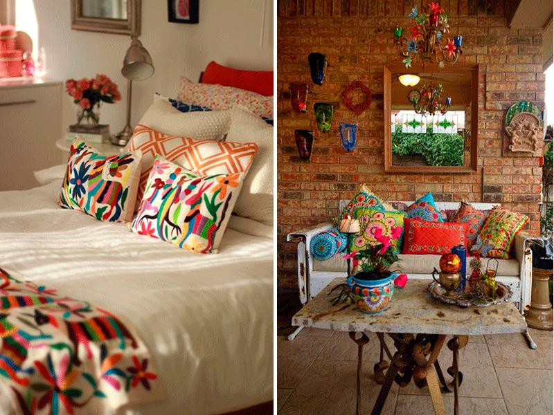 Descubriendo estilos mexicano decoracion de interiores - Decoracion terrazas interiores ...