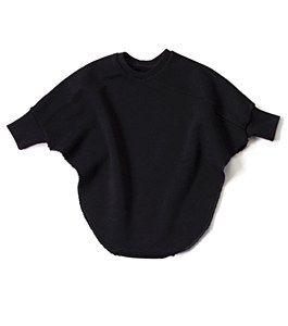 NUNUNU Black Bat Top