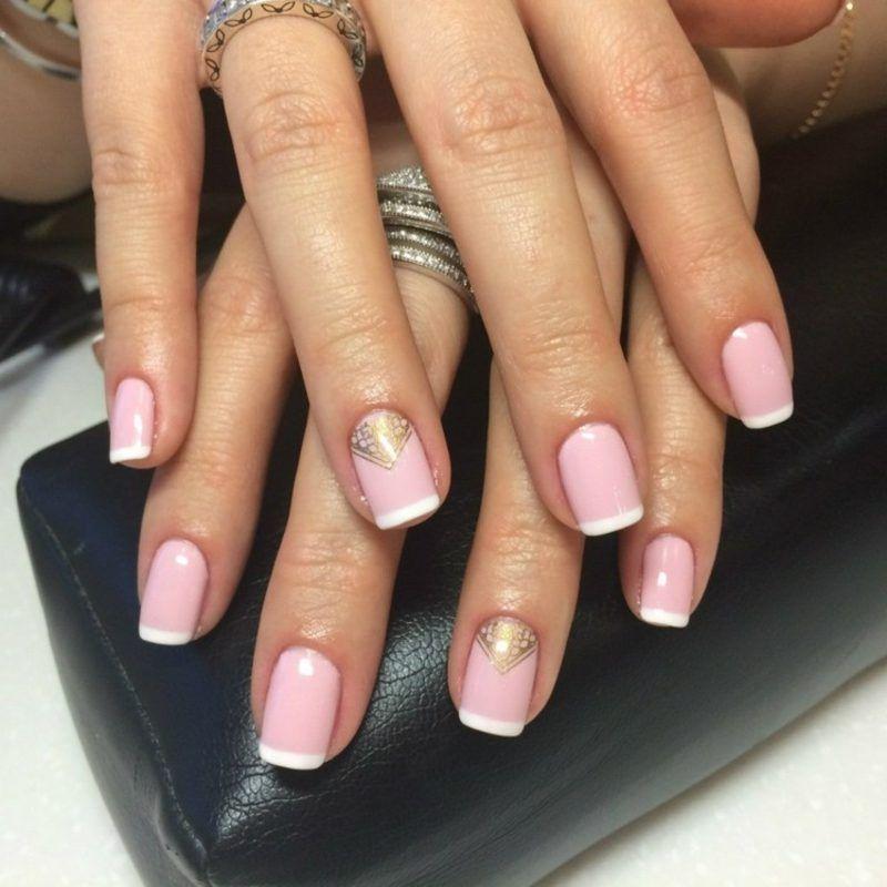 French nails selber machen hilfreiche tipps 30 bezaubernde ideen nageldesign nail art - Nageldesign selber machen ...