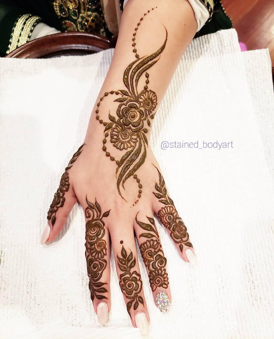 Khaleeji Henna Designs Tattoo: Gulf Style Or Khaleeji Style Henna