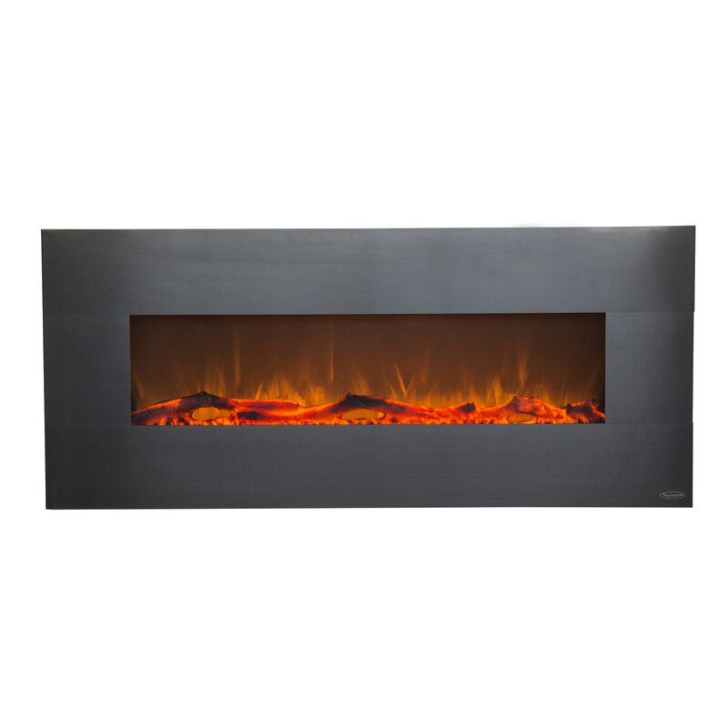 Lauderhill Wall Mounted Electric Fireplace In 2020 Wall Mount