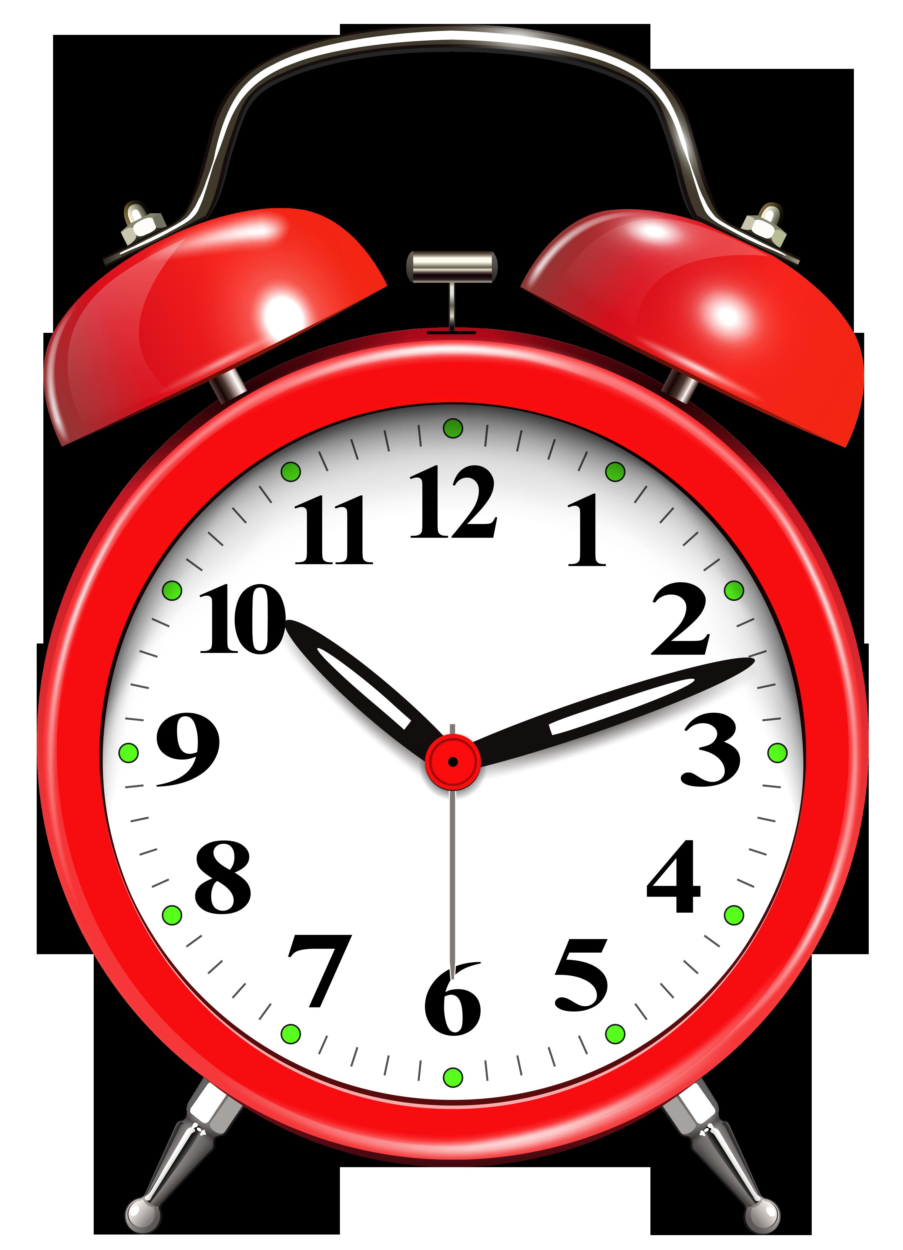 Alarm Clock Red PNG Clip Art Clock clipart, Clip art