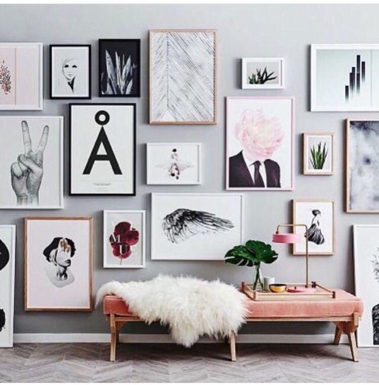 Wall frames fur Decoración de Interiores / Interior decoration