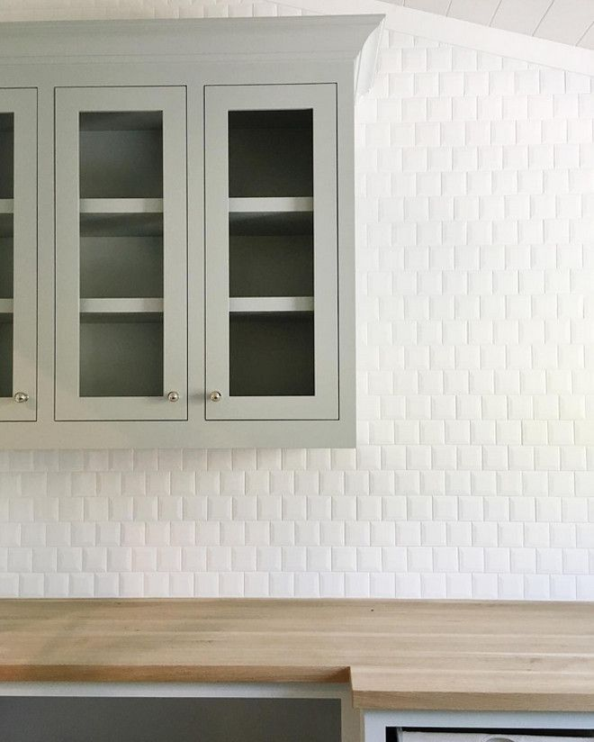 Cabinet paint color is Sherwin William Silver Strand. Studio McGee ...