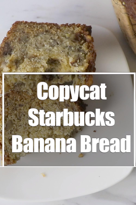Copycat Starbucks Banana Bread Bread Recipes In 2020 Banana Bread Recipe Moist Easy Banana Bread Recipe Starbucks Banana Bread