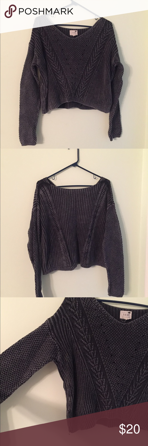 Pac Sun Oversized Sweater | Scoop neck and Customer support