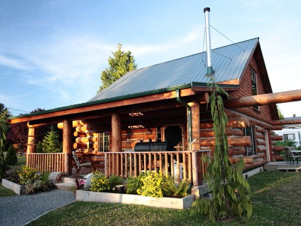 Build Your Own Mortgage Free Log Home