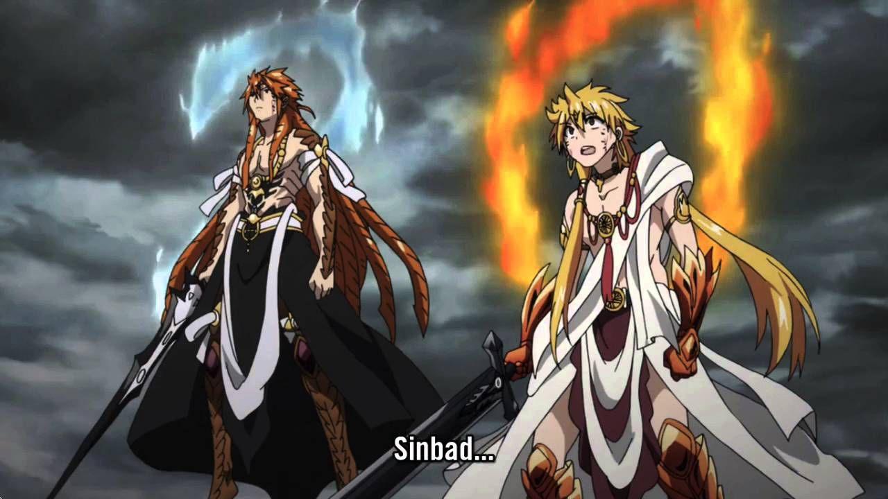 Magi Sinbad Epic Arrival Epic Moment in