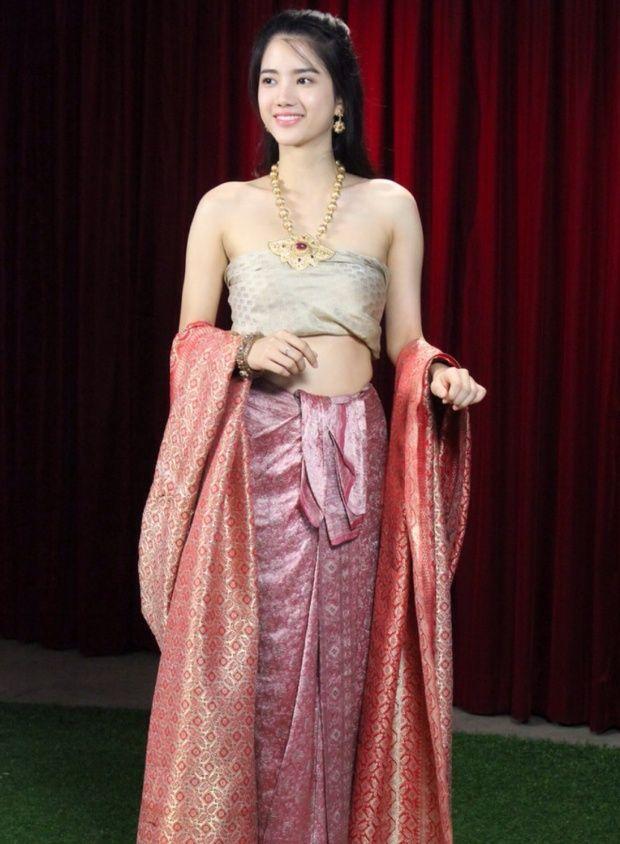 Thai Style Thai costume Thai girl Siam Dress Thai traditional ...
