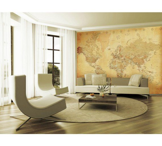 buy 1wall vintage map wall mural at argos.co.uk, visit argos.co.uk