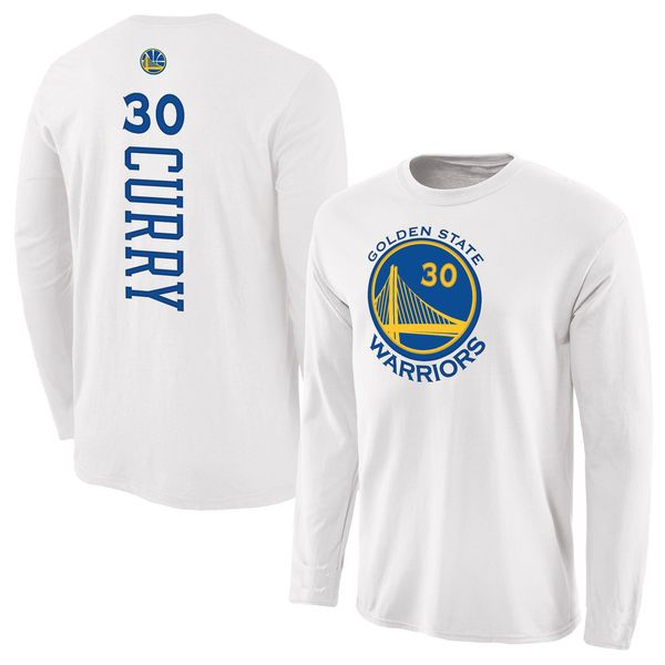 Stephen Curry Golden State Warriors Fanatics Branded Backer Name & Number Long  Sleeve T-Shirt - Gray