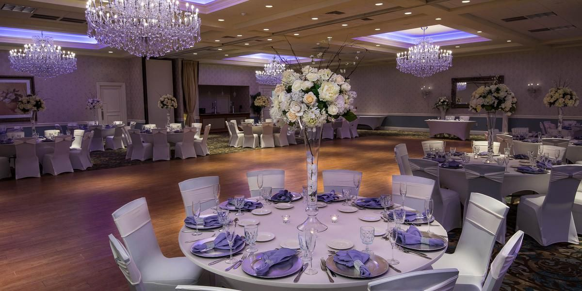 Crystal Ballroom At The Radisson Freehold Weddings Price Out And