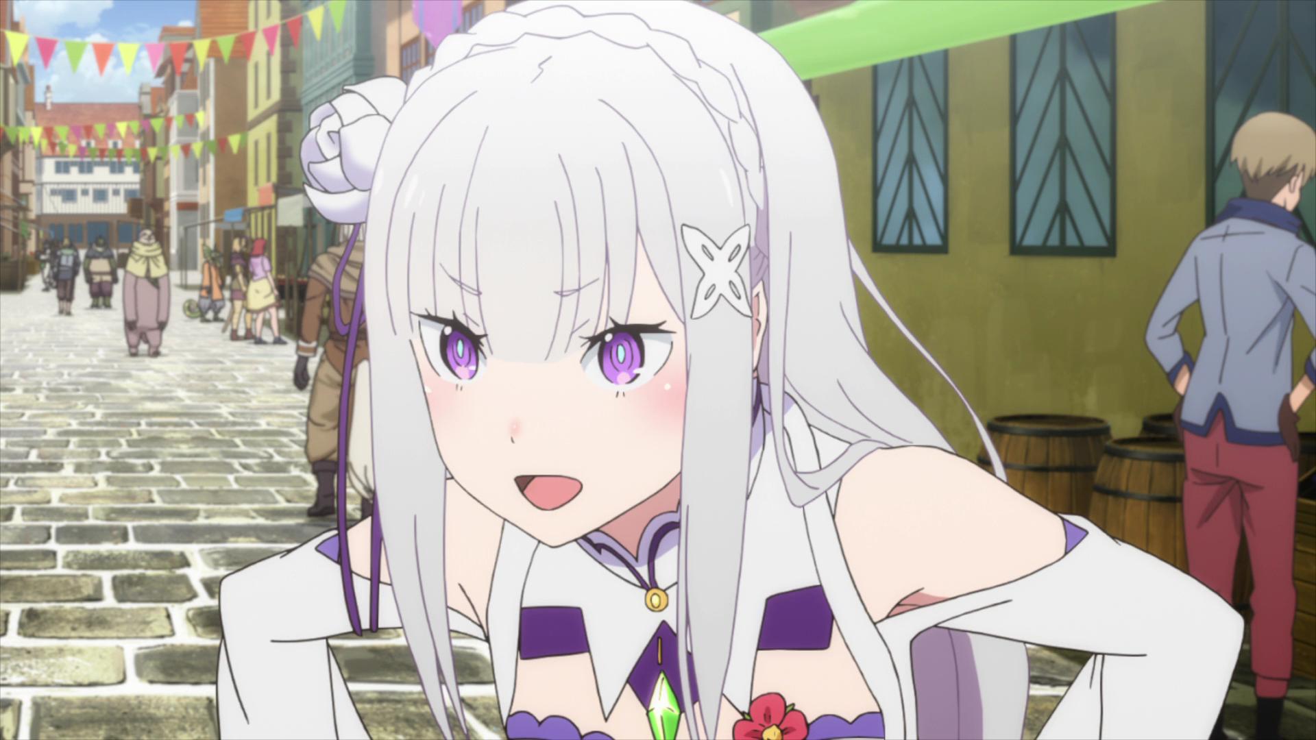 Pin em Emilia (Re Zero)