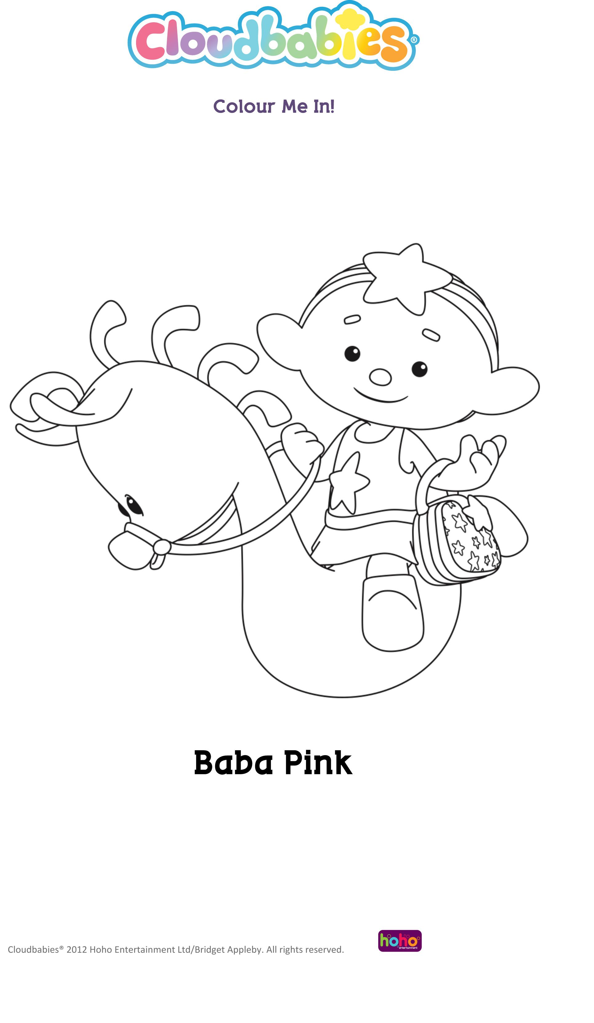 Baba Pink | COLOURING SHEETS | Pinterest | Coloring books and Babies