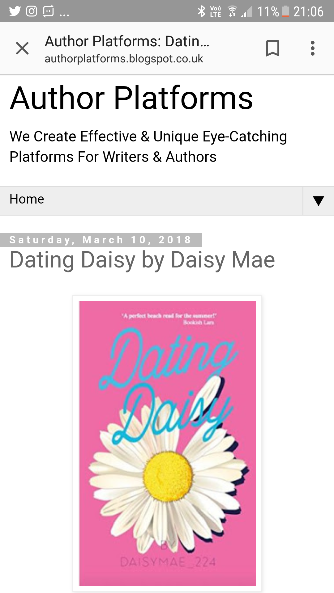 dating daisy is an engaging humorous look at one woman s search for