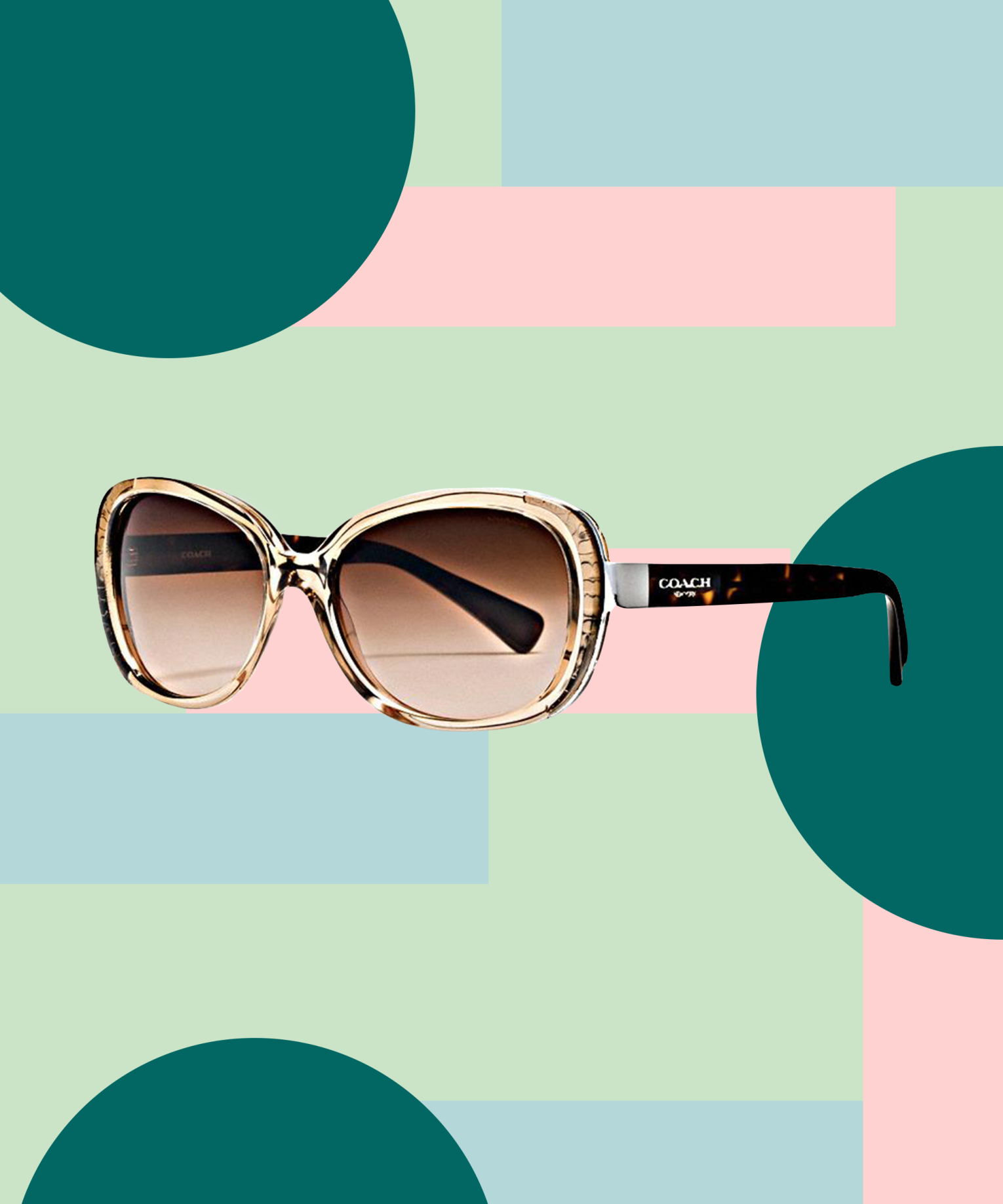 8722e2175b8b Coach's new sunnies give us a welcome dose of nostalgia. http://www