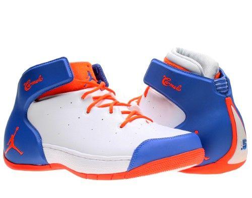 Jordan Melo 1.5 Basketball Men's Shoes Size 11.5, White/Team ...