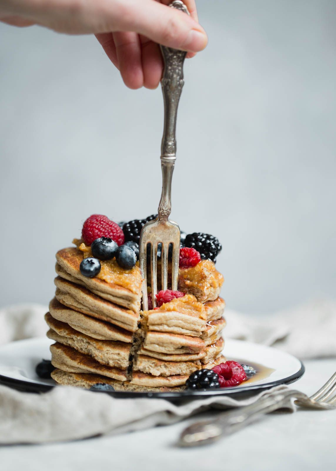 flapjacked protein pancake and baking mix breakfast oatmeal rh pinterest com protein pancake recipe cottage cheese oatmeal protein pancakes with cottage cheese and oatmeal