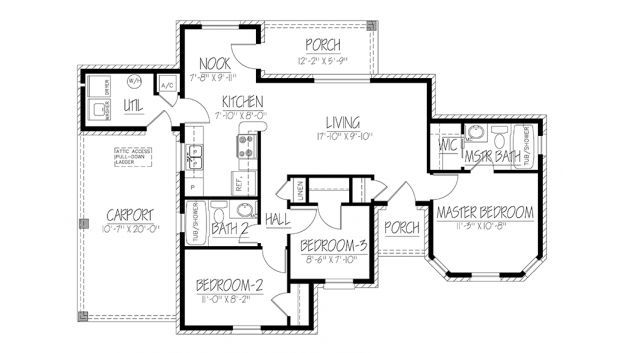 7 Tiny Home Floor Plans Under 1000 Square Feet For Big Families Floor Plans Ranch Tiny House Floor Plans Ranch Style House Plans