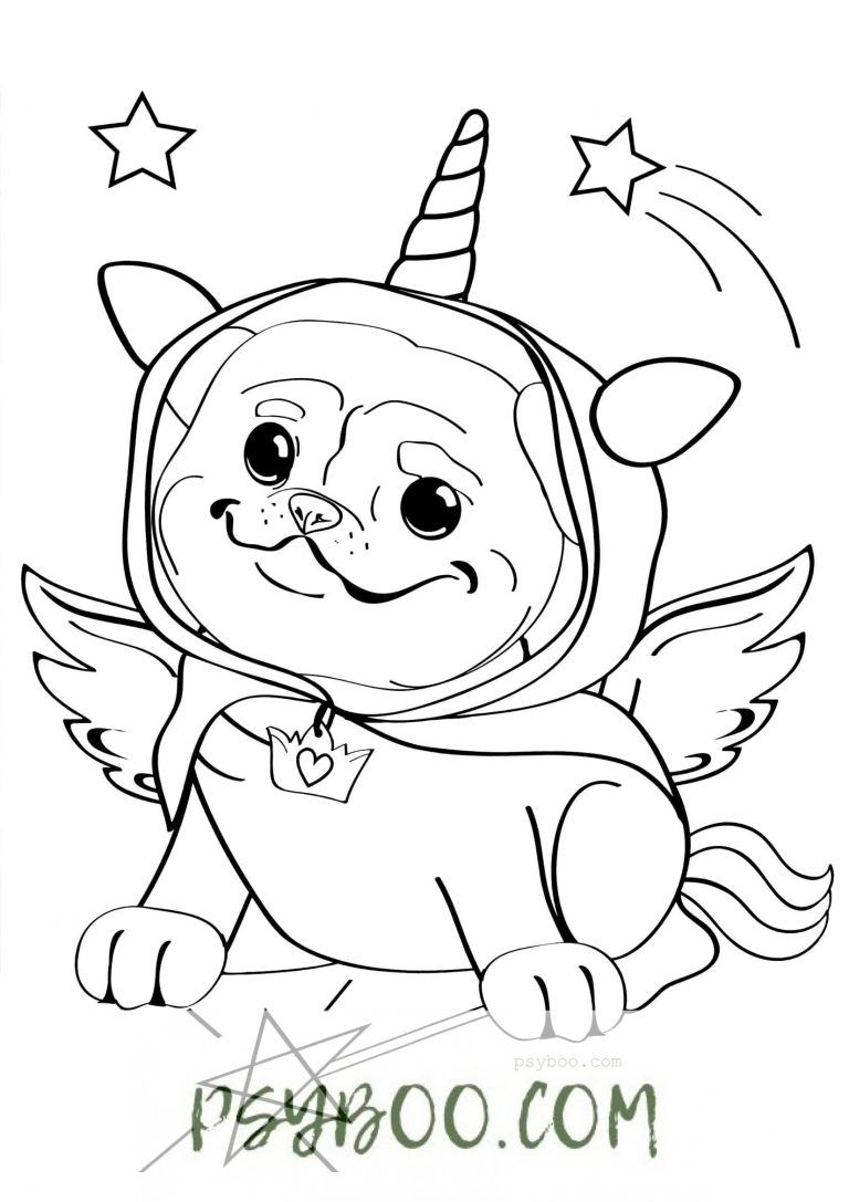 Unicorn Dog Coloring Pages To Free Print Color Dog Coloring Page Coloring Pages Free Printable Coloring [ 1087 x 768 Pixel ]