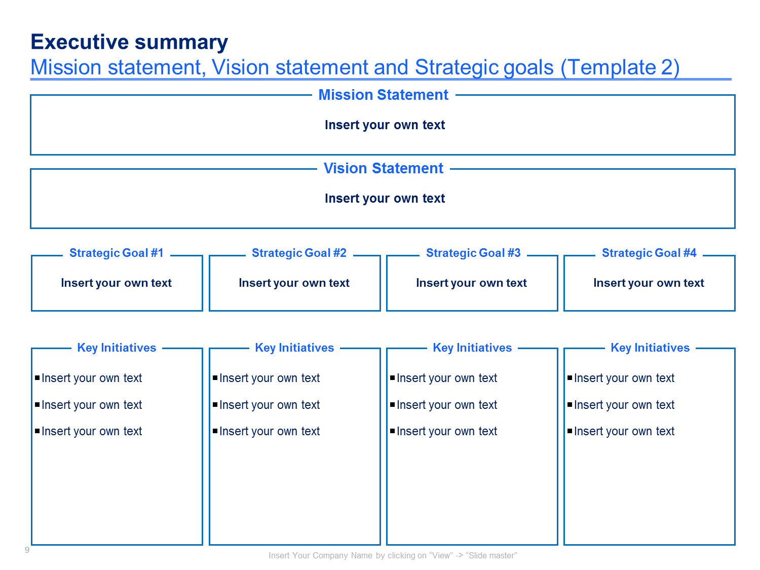 Example Of Strategic Plan
