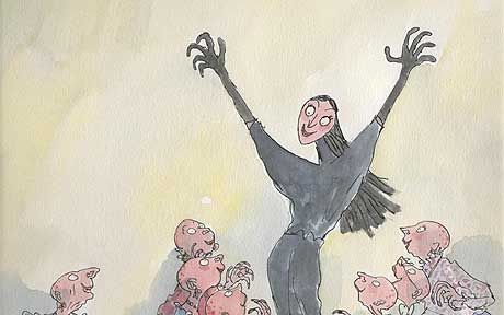 Quentin Blake illustration from The Witches by Roald Dahl